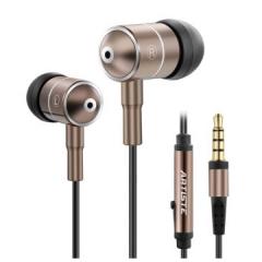 雅天I2金属入耳式耳机古铜色