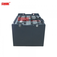 梯佑叉车FB20平衡重叉车蓄电池24-D-450 梯佑叉车电池48V450Ah厂家批发