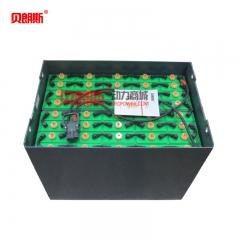 牛力叉车CPD35电动平衡重叉车蓄电池40-6DB600 牛力叉车专用电瓶80V600Ah