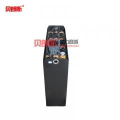 欧模(OM)TLX20站板式电动托盘搬运叉车蓄电池12-2PZS220 OM叉车电池48V220Ah