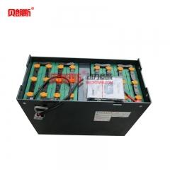 大连叉车CPD25电动平衡重叉车蓄电池24-D-600 DALIAN叉车电瓶48V600Ah