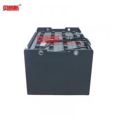西林叉车CPD20SA-18电动三支点平衡重蓄电池48V490Ah 贝朗斯西林叉车电池品牌