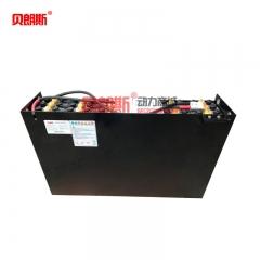 丰田叉车6FBRE12电动前移式蓄电池24-3PZS420 贝朗斯电动叉车电瓶批发厂家