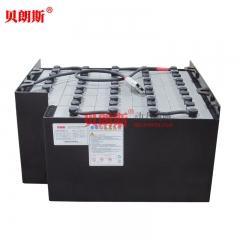 24-9DB450/48V丰田2吨平衡重电瓶叉车电池目录表 丰田7FB20铲车电池报价