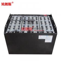 开普叉车KEF40平衡重叉车蓄电池80V720Ah厂家批发 贝朗斯6HPzS720电瓶批发