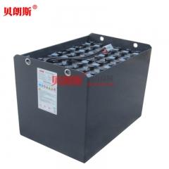 海斯特叉车J2.0XNT三轮电动叉车蓄电池 HYSTER叉车电瓶6HPzS750贝朗斯品牌