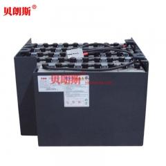 丰田电瓶叉车7FBH15牵引蓄电池VSIL545ML厂家 丰田1.5吨冷库专用电动叉车电池