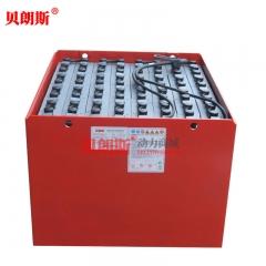林德叉车E25P电动平衡重蓄电池80V5PZS700 厂家贝朗斯叉车电池批发