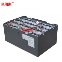 叉车蓄电池品牌9PBS450生产厂家 适用美科斯品牌1.5T电动叉车蓄电池组