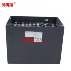 龙工3吨平衡重叉车蓄电池40-4PZS500 龙工叉车LG30B叉车电池80V500Ah