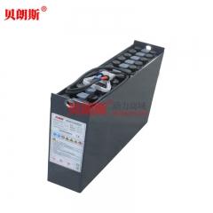 12-3DB225H杭叉电瓶式CDD12-AC1S-J剪叉前移堆垛车蓄电池24V225Ah安装图片