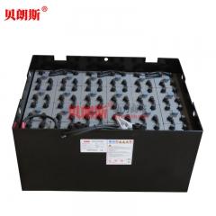 江淮叉车电池车型表 江淮CPD25叉车蓄电池9PZS630安装图片