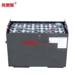 杭州2吨侧移叉车电池组5PzS625图片 杭州叉车48V625Ah牵引电池安装方式
