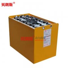 24V/7PzS875电动牵引车蓄电池安装说明 杭叉QSDT2场地牵引车电池安装图