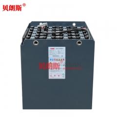 柳工2吨电瓶叉车电池24-7DB630安装图 柳工CLG2020A-S叉车电池48V630Ah高清图