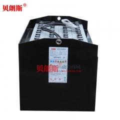 【TOYOTA】VGI470-48V进口叉车电池厂家 标配丰田叉车8FBE15电动叉车电池安装图