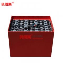 2*24V叉车电池5PzS700L串联48V林德R20P叉车(L-TRAYS)大前移铲车蓄电池组