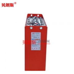 广东 铅酸蓄电池48V/3HPzS450系列配套林德电瓶叉车R16N大前移铲车电瓶安装尺寸