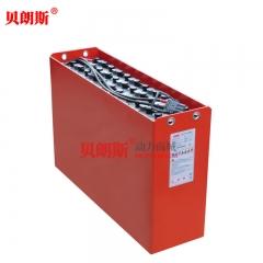 D-420/48V林德R16N前移式叉车电瓶420Ah 1.6吨(LINDE)前移铲车电池安装图