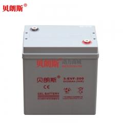 3-EVF-200免维护高尔夫球车电池厂家 6V200Ah高尔夫球电动车电瓶选型