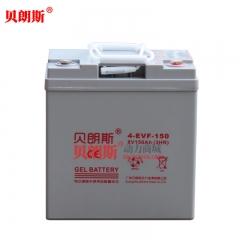 4-EVF-150免维护高尔夫球车蓄电池 8V150Ah电动高尔夫球车胶体电池