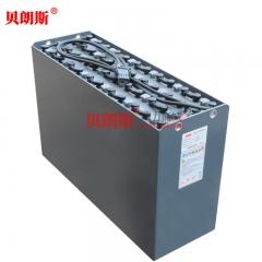 尤恩(un)叉车2吨电动平衡重叉车蓄电池4PzS560 贝朗斯尤恩叉车电瓶厂家