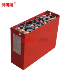 24V/5PzS575电动叉车电池品牌 林德叉车1.5吨平衡重铲车电瓶安装参数